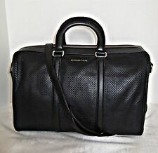 Michael Kors - Libby Large Leather Gym Bag - Black