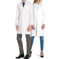 Doctor DR James Unisex Bianco laboratorio di chimica laboratorio Cappotto Cotone Taglia XXL