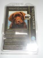 "DIMENSIONS GOLD COLLECTION PET. Counted Cross Stitch Kit - HOT CHOCOLATE 6"" x 6"""