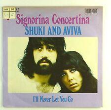 "7"" Single - Shuki And Aviva - Signorina Concertina - S1597 - RAR"