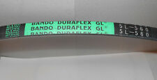 Bando Duraflex Gl Fhp V-Belt - 5L560 Oil & Heat Resistant 56 Inches 21/32-3/8""