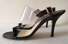 Michael Kors Black Summer Heels - seethrough strap - US 8.5 - REDUCED - MUST GO