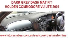 DASH MAT, DARK GREY DASHMAT FIT HOLDEN COMMODORE UTE 2001 VU