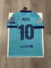 Leo Messi Soccer Jersey Barcelona Away Third Medium