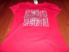 Dale Earnhardt Jr. 88 SEXY RED T SHIRT Race car Ladies NEW NWT NAscar RAcing