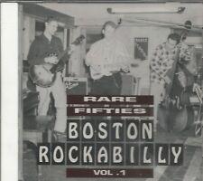 RARE FIFTIES BOSTON ROCKABILLY - Vol. 1 -  BRAND NEW -  CD