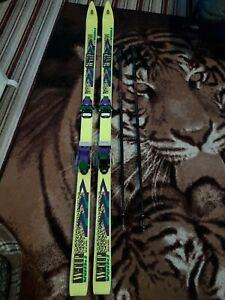 w cup volkl skinetik skis with Scott poles