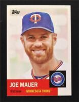 2016 Topps Archives #85 Joe Mauer - NM-MT