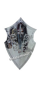 Armor Battle Shield Functional Reenactment Costume Shield
