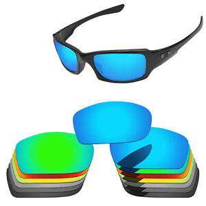 PapaViva Polarized Replacement Lens for-Oakley Fives Squared Sunglasses -Options