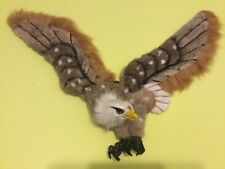 "Lager Simulation Eagle Toy Polyethylene & Furs Wings Eagle 27 1/2"" Inches Long"