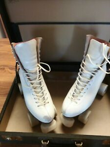 Riedell Red Wing Vintage Roller Skates Size 7 1/2 with case