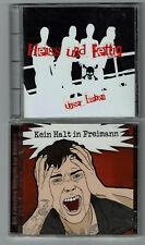 Punk-CD-Doppelpack: Heiss und Fettig aus Röllfeld - Unser Leben + Hörspiel CD