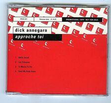 4 TRACK PROMO MAXI CD SINGLE DICK ANNEGARN APPROCHE TOI