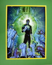HAL JORDAN & GREEN LANTERN CORP PRINT PROFESSIONALLY MATTED DC New 52