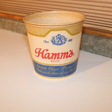 1956 Hamm's Beer Wax Cardboard Ice Bucket