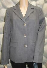 NWT Garfield & Marks Gray Pin Stripped Business Jacket Made in USA Retail $390