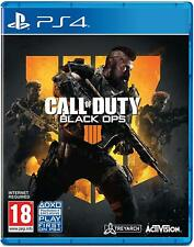 Call of Duty: Black Ops 4 PS4 (Sony PlayStation 4, 2018) Nueva-región libre