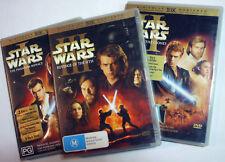 Star Wars Episode I II & III IV V VI plus Force Awakens - 12x R4 DVDs - posted