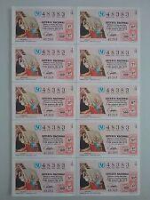 Billete entero Lotería Nacional sorteo 1/1972 (5 de enero) FERRER BASSA
