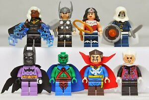 Marvel Avengers and universe collection minifigures UK THoR WONDER WOMAN MARtian
