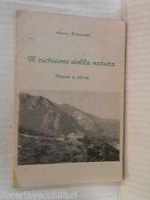 IL RICHIAMO DELLA NATURA Poesie e prose Antonio Romaniello Tipografia Palumbo di