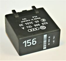 VW Caddy 156 Relay Engine Control Glow Plug Unit 12V 028 906 124 A 05 3404 30