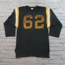 Vintage 60s HaneSport Football Jersey Made in USA Size XL Hanes Sport
