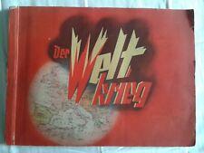 Zigarettenbilderalbum - Der Weltkrieg 1914-1918, Album komplett
