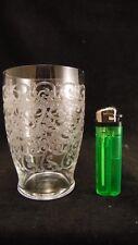 Trés grand verre en cristal de Baccarat signé modèle Rohan Gouvieux, 11 cm !!