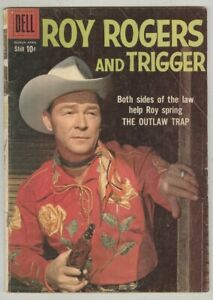 Roy Rogers and Trigger #130 March 1959 VG