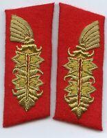 Reproduktion Wehrmacht Paar Kragenspiegel für Generäle 3.Reich Deutsches Reich