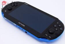 [EXC] Sony PS Vita PCH-2000 Black x Blue Handheld Console 1GB Wi-Fi