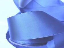 Antique Smokey Blue 1 1/2 inch Double sided Satin Ribbon 4 Yards