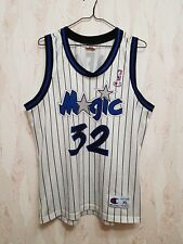 Orlando Magic O'NEAL 32 Basketball Shirt Jersey Champion NBA Retro Vintage Rare