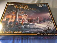 White Mountain Puzzles Winter Wonderland 1000 Piece Jigsaw Puzzle Terry Redlin