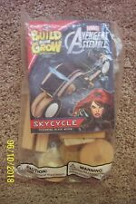 Build & Grow Avengers SKYCYCLE - Featuring BLACK WIDOW - NIP