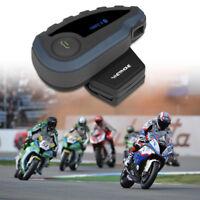 1200m BT Intercomunicador Bluetooth Interphone Moto Auriculares Casco 5 Rider V8