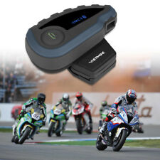1200m BT Intercomunicador Bluetooth Interphone Moto Auriculares Casco 5 Rider V8