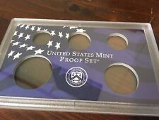 Plastic Coin Holder w/ Blue Insert No Coins