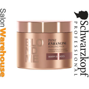 Schwarzkopf BLONDME Tone Enhancing Bonding Mask 200 ml Warm Blondes