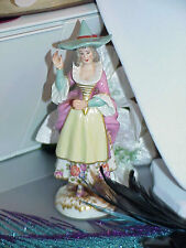Antique Volkstedt Early Dresden German Porcelain Witch Figure Figurine