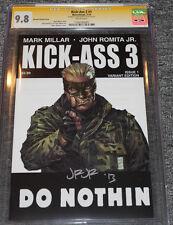 Kick Ass 3 #1 Marc Silvestri Variant CGC 9.8 SS Signed by John Romita