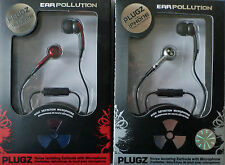 Earplugs In Ear Kopfhörer Ohrstöpsel iPhone/Blackberry 3,5mm Rot Silber Schwarz