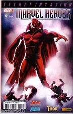 MARVEL HEROES n°17 ~*~ SECRET INVASION - PANINI COMICS - TBE