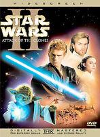 Star Wars Episode 2-Attack of the Clones DVD George Lucas(DIR) 2002