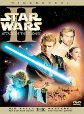 Star Wars Episode II: Attack of the Clones (DVD, 2002, 2-Disc Set,...