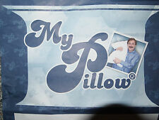 "My Pillow As seen on TV PREMIUM KING size bed pillow NWT MyPillow 2"" gusset"