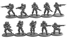 DreamForge: Eisenkern Stormtrooper Rifle Squad (10- Figure Rifleman Kit)