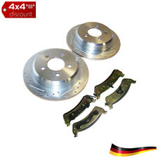 High Performance Brake Kit, trasero Jeep Grand Cherokee ZJ/ZG 1994/1998